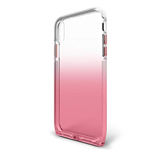BodyGuardz - Harmony Case for Apple iPhone Xs Max (Clear/Pink), Extreme Impact and Scratch Protection for iPhone Xs Max (Rose Quartz)