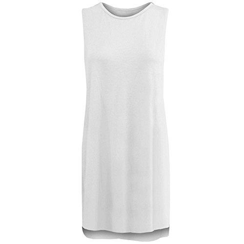 21FASHION - Camiseta sin mangas - para mujer blanco