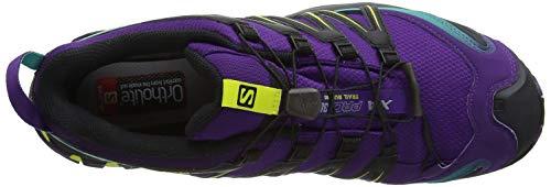 Mujer Green W para 3D XA Black Salomon Calzado Running Dynasty Acai Pro Morado GTX de Trail wSnvH
