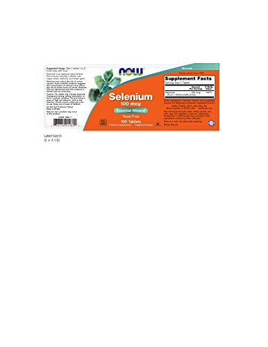 NOW Foods, Selenium 100mcg 100 TABS by NOW Foods (Image #1)