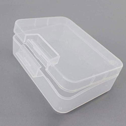 NA Aufbewahrungsbehälter, transparente Werkzeugkasten Batterie Schraube Schmucksache-Werkzeug leeren Kasten-Speicher-Container PP-Material Gebrauchs- und giftig for die Speicherung von Craft Artikel