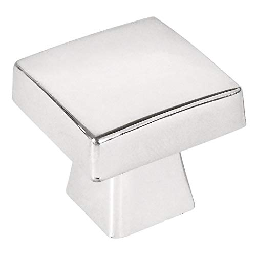 - 10 Pack - Cosmas 5233CH Polished Chrome Contemporary Square Cabinet Knob