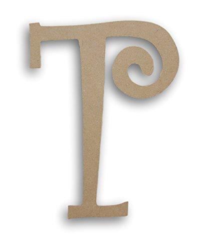 MPI Wood Pressed Wood Initials Wall Decor - 8