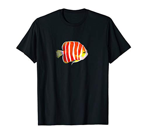 (Peppermint Angel fish Saltwater reef aquarium tank shirt)