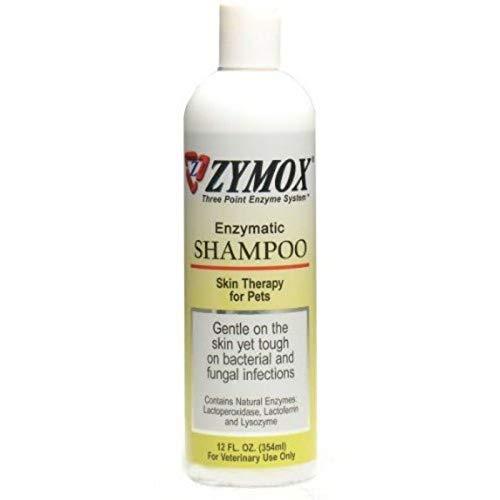 Zymox Shampoo Enzymatic Medicated Antibacterial and Antifungal 100% (12oz)