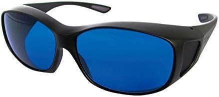 レーザ保護眼鏡 RSX-4/HE ●適用波長範囲:600~700nm●光学濃度(OD値):6