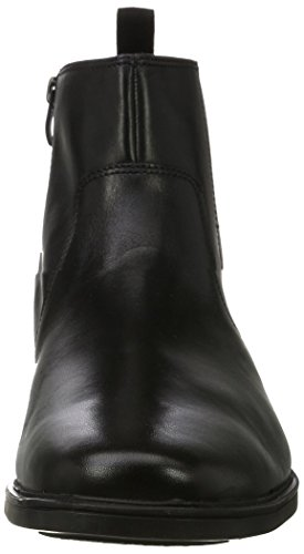 Clarks Herren Tilden Zip Chelsea Boots Schwarz (Black Leather ----)