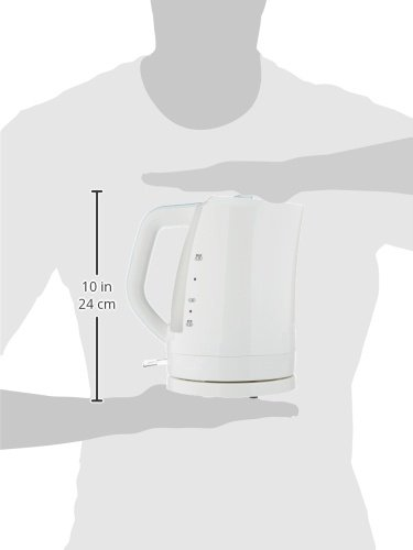 Alpina SF-804 Automatic 220V Cordless Electric Hot Water Kettle White 1.7 L