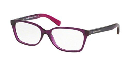 MICHAEL KORS Eyeglasses MK4039 INDIA 3222 Transparent Purple