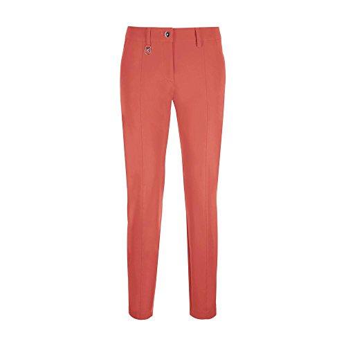 Chervò Mujer Kilim Trousers White Spring Orange Singer Summer 61827 RZRqav