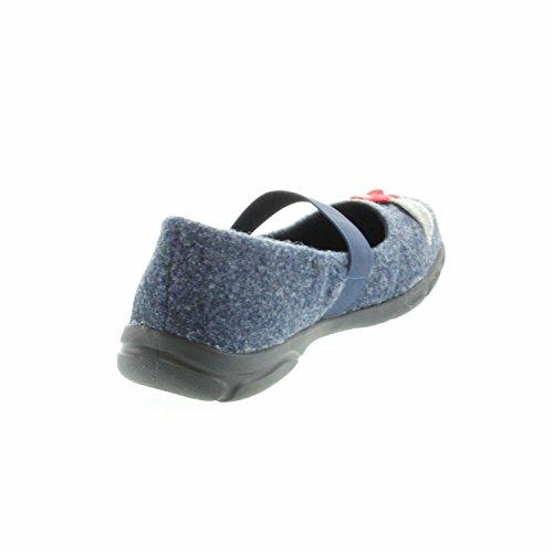 03 Traveler Azul 500 Casa Estar De 500 Mujer Para Zapatillas blau Romika Por H 1Eqdgwxw