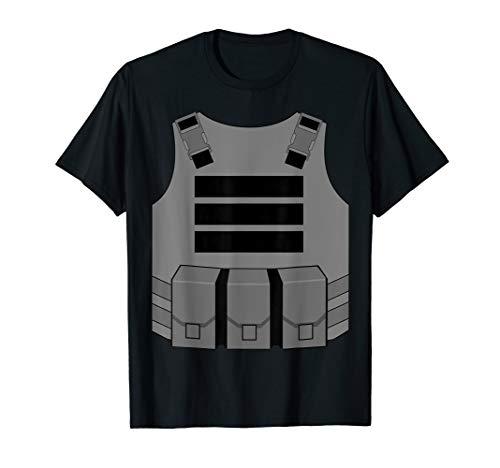 Gaming bulletproof vest costume t-shirt ()
