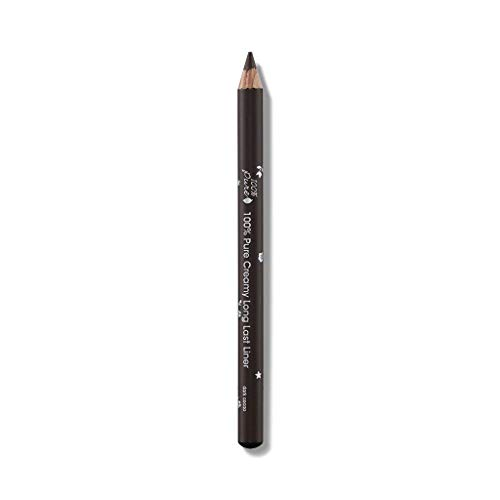 100 Percent  Pure Dark Cacao Creamy Long Last Liner 100% Natural Lip Liner