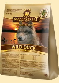 wild duck trockenfutter f r hunde mit ente und kartoffeln 2x15kg doppelpack wolfsblut g nstig. Black Bedroom Furniture Sets. Home Design Ideas