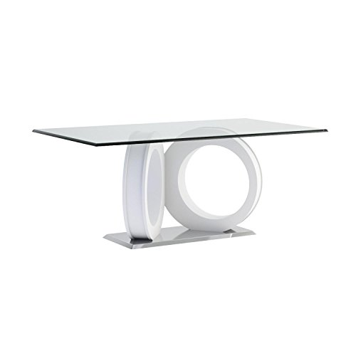 Global Furniture Dining Table, White