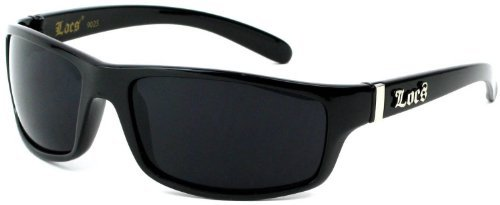 Locs Old School OG Sunglasses with Black Out Lenses 3068 - School Old Sunglasses