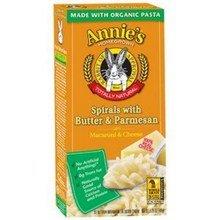 Annie's Homegrown Spirals, Btr and Prm Mac N Chs, 5.25-Ounce (Pack of 12)