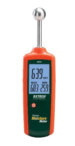 EXTECH MO257 - PINLESS MOISTURE METER with .78-1.6 inch depth. from Extech