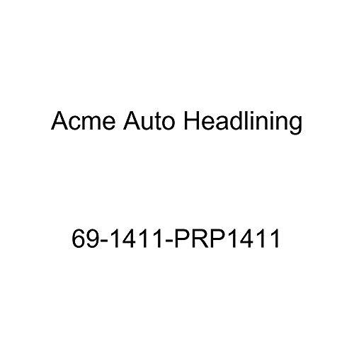 (Acme Auto Headlining 69-1411-PRP1411 Maroon Replacement Headliner (1969 Chevy Impala 2 Door Sport and Super Sport Hardtop Fastback (5 Bow)))