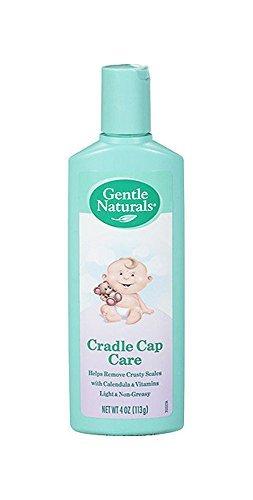 Gentle Naturals Cradle Cap - Gentle Naturals, Cradle Cap Care, 4-Ounce
