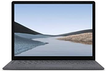 Microsoft Laptop 3 (PKU-00001) | 13.3in (2256 x 1504) Touch-Screen | Intel Core i5 Processor | 8GB RAM | 256GB SSD Storage | Windows 10 Pro | (Alcantara) Platinum