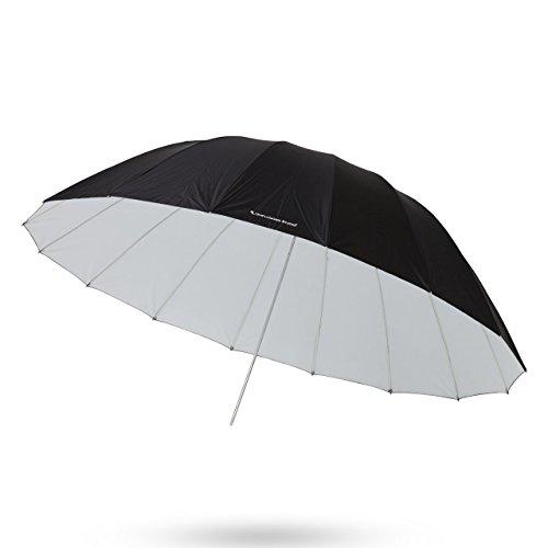 UNPLUGGED STUDIO 70inch White Umbrella (16 Fiberglass Ribs) by UNPLUGGED STUDIO (Image #5)