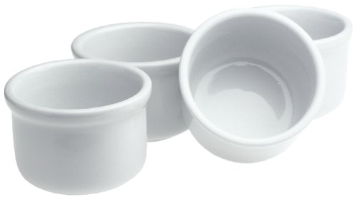 BIA Cordon Bleu 16-Ounce White Porcelain Chili Bowls, Set of 4