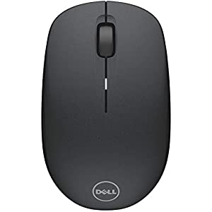 Dell Wireless Computer Mouse-WM126 – Long Life Battery, with Comfortable Design (Black)