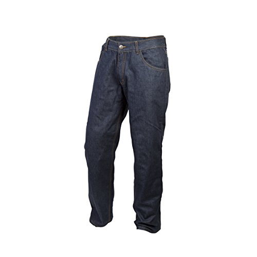 ScorpionExo Covert Pro Jeans Men's Reinforced Motorcycle Pants (Blue, Size 34)
