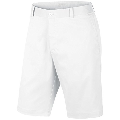 Nike Golf Men's Flat Front Short - 32 - White