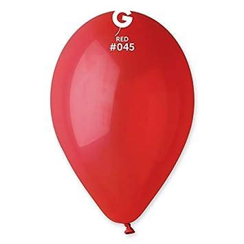100 Luftballons Rot  Cm Durchmesser Artikel Gemar Srl Original Amazon De Spielzeug
