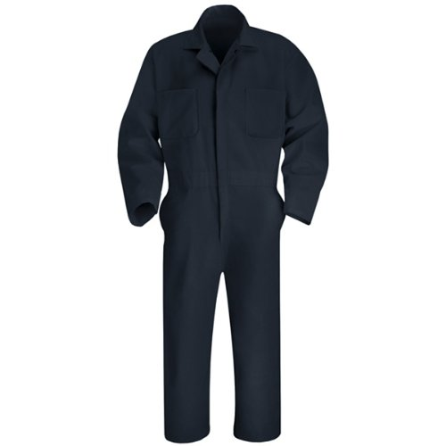 Navy Coveralls (Red Kap Men's Twill Action Back Coverall, Navy, 56)