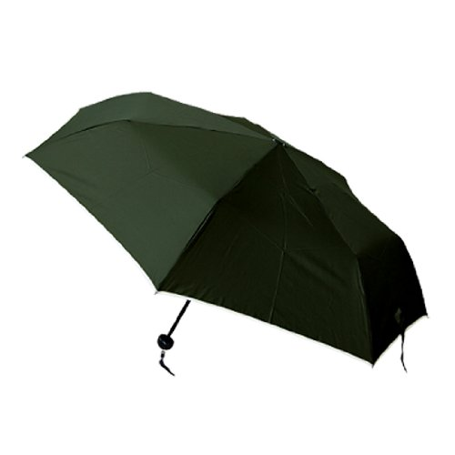 Men Foldable Brolly Rain Umbrella Army Green