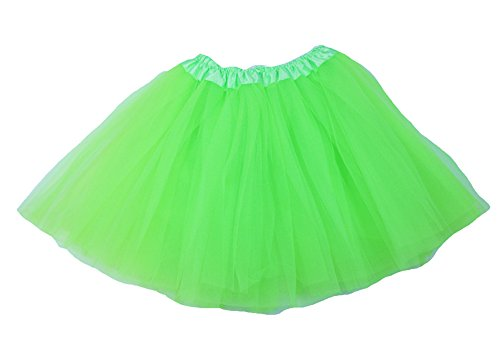 The Hair Bow Company Girl & Teen Tulle Tutu Skirt for 8-16 years Lime (Lime Tutu)