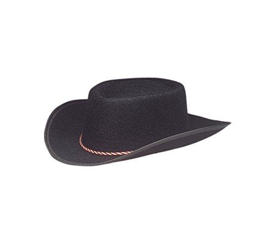 (Jacobson Hat Company Child Permalux Cowboy Costume, Black, Large)