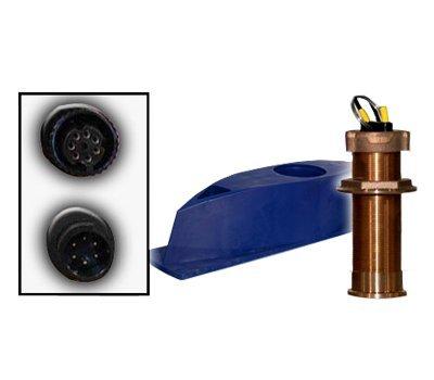 Furuno 235DHT-LMSE Bronze Thru-Hull, Digital Depth & High-Precision Temp Sensor, 7