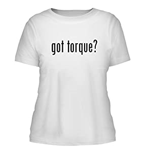 got torque? - A Nice Misses Cut Women's Short Sleeve T-Shirt, White, Large