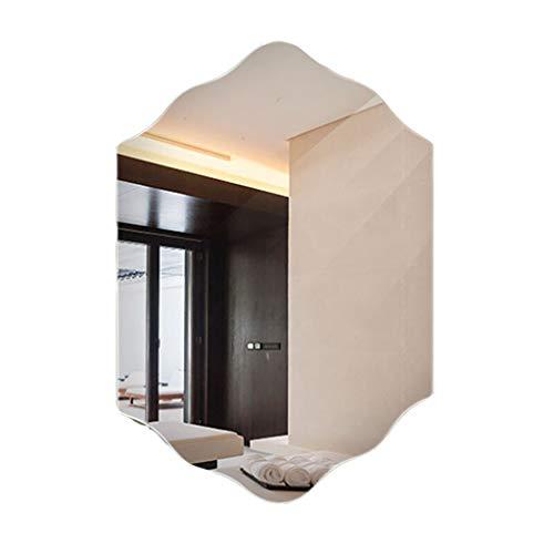 Large Frameless Wall Mirror | 5mm HD Mirror | Chiseled Edge | - Edge Mirrors Bathroom Chiseled