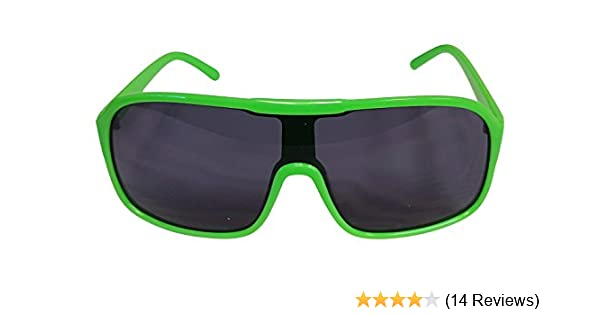 481140829c987 Amazon.com: Party Sunglasses Shades for Macho Man Costume-Green: Clothing