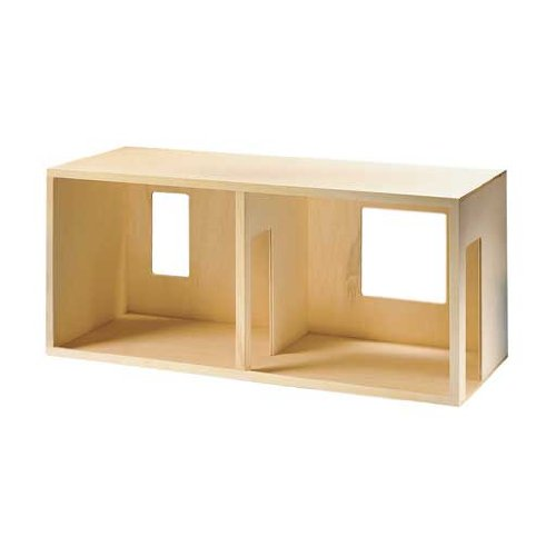 Corona Dollhouse Kit (Dollhouse Miniature Side-By-Side Duplex Kit)