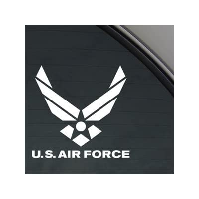 AIR Force Decal Truck Bumper Window Vinyl Sticker | 4.5 in | KCD193: Automotive