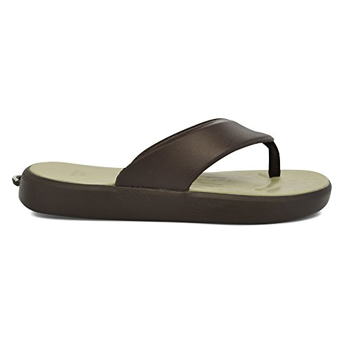 Skiff SoftScience Chocolate SoftScience Mens Mens Khaki EVA Flop Flip 5txSqxwP4