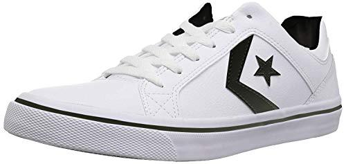 Converse Womens El Distrito Leather Low Top Sneaker