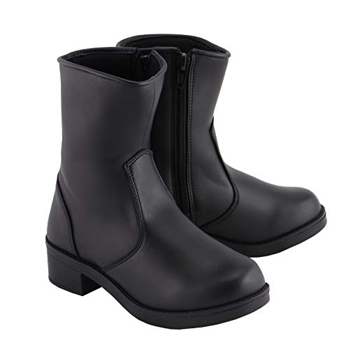 Milwaukee Boots MBL9480 Ladies Super Clean Riding Boot with Side Zipper Entry - 7 ()