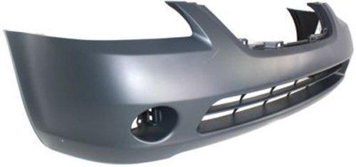 Crash Parts Plus Primed Front Bumper Cover Replacement for 2002-2004 Nissan Altima