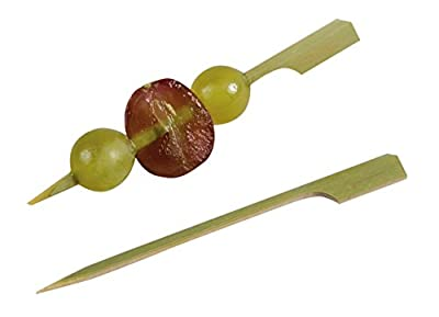 Restaurantware Bamboo Paddle Skewer 4 in., 1000 count box