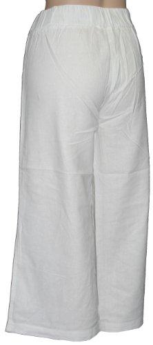 Tom Franks - Pantalón - relaxed - para mujer blanco