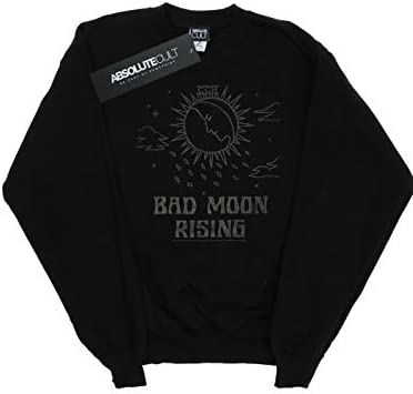 Absolute Cult Creedence Clearwater Revival Herren Bad Moon Rising Sweatshirt Schwarz X-Large