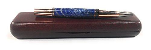 Handmade Ballpoint Pen Bendecidos 100% Natural Maple Burl Wood Pens with Elegant Pen Gift Boxes - Rose Gold, Black Titanium Metal Plating   Wedding, Graduation, Birthday & Anniversary Gift