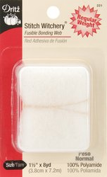 Dritz 221 1-1/2-Inch by 8-Yard Stitch Witchery, Regular